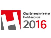 Logo Upper Austrian Wood Construction Award